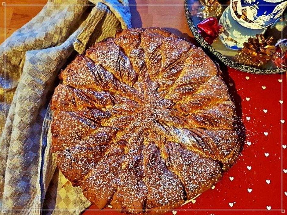 Pyragas cinamono lapeliai